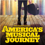 A movie poster for America's Musical Journey