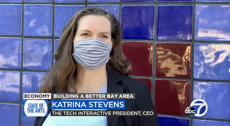 Katrina Stevens, president and CEO of the Tech Interactive