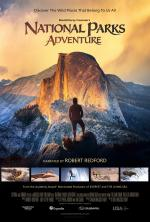 A movie poster for National Parks Adventure