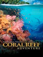 A movie poster for Coral Reef Adventure
